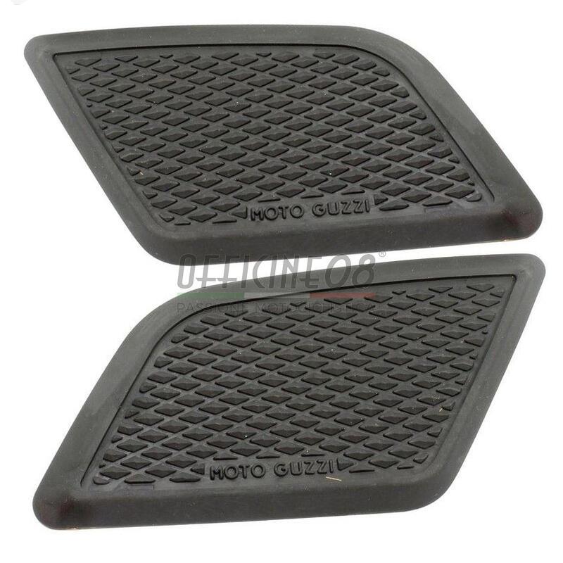 Fuel tank knee pads Moto Guzzi pair