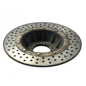 Brake disc rotor BMW R 45 front vented offset high