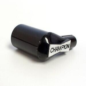 Cappuccio candela Champion WCX600 90° nero