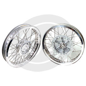 Complete spoke wheel kit Moto Guzzi 850 Le Mans 17''x3.00 - 17''x4.25 CNC