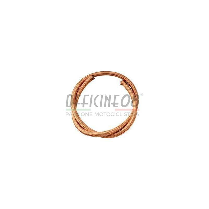 Fuel hose 6x11mm braided copper