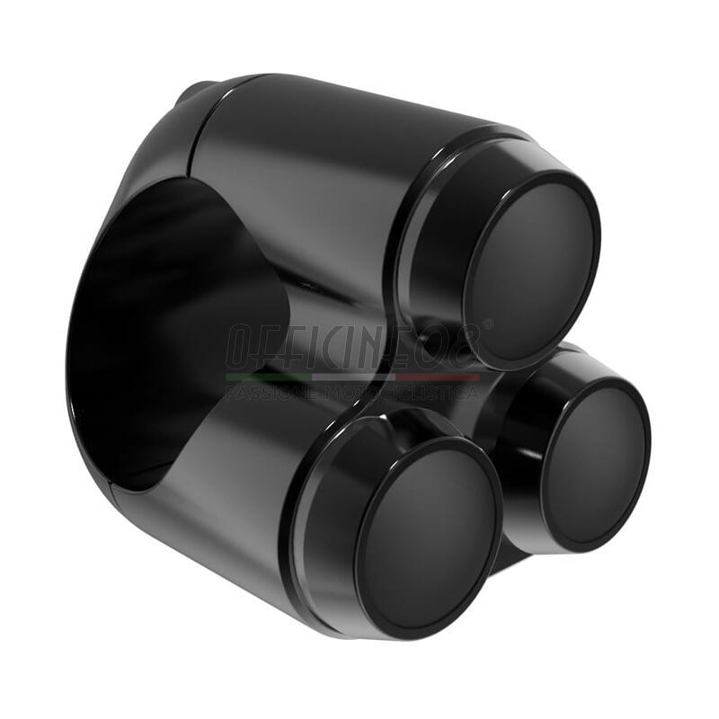 Button set 22mm M-Switch 3 black