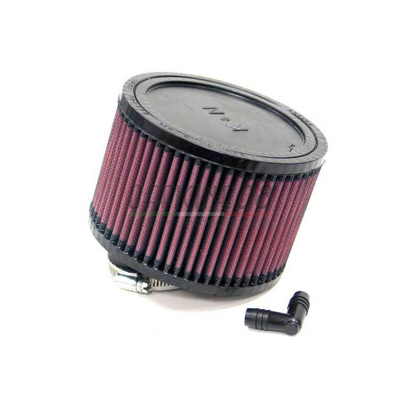 Filtro a trombetta 52x102mm cilindrico inclinato 10° K&N