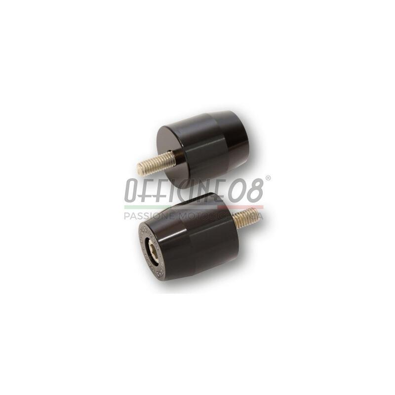Coppia contrappesi portaspecchietti per Suzuki GSF 600 Bandit Highsider