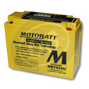 Battery Honda CBX 1000 Pro Link sealed Motobatt 12V-25Ah