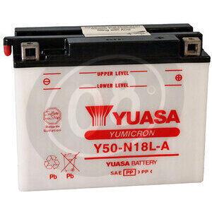 Batteria di accensione Yuasa Y50-N18L-A 12V-20Ah