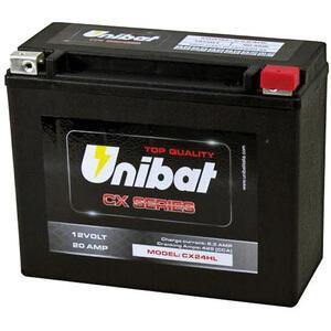 Batteria di accensione Unibat CX24AHL 12V-20Ah