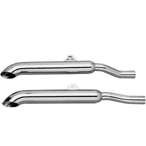 Exhaust mufflers Honda GL 1000 Goldwing Mac TurnDown chrome pair