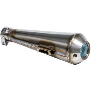 Exhaust muffler Megaton TIG 45mm stainless steel side mounting