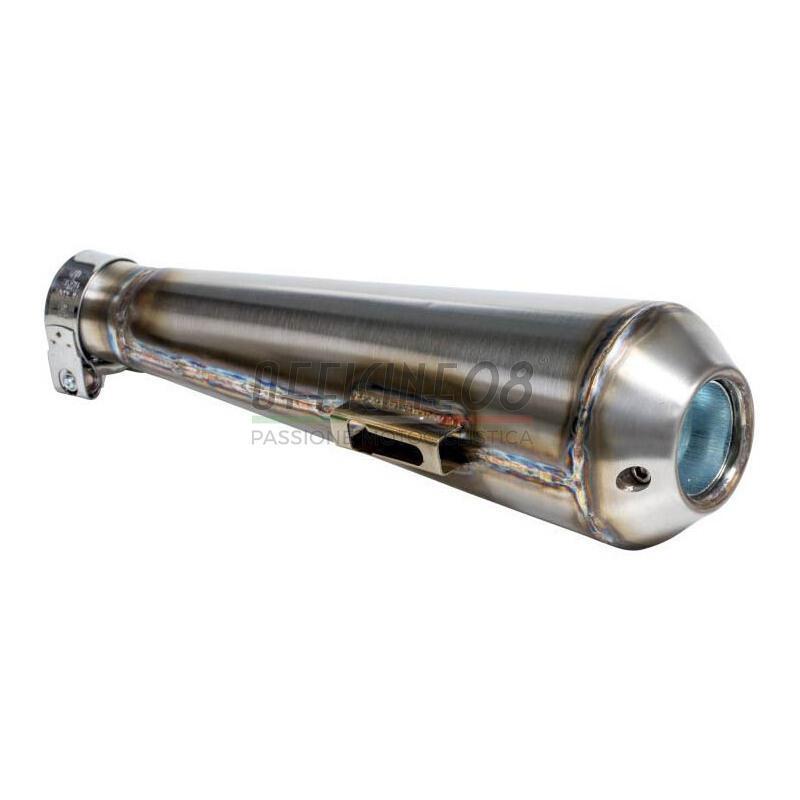 Finale di scarico Megaton TIG inox 51mm attacco laterale