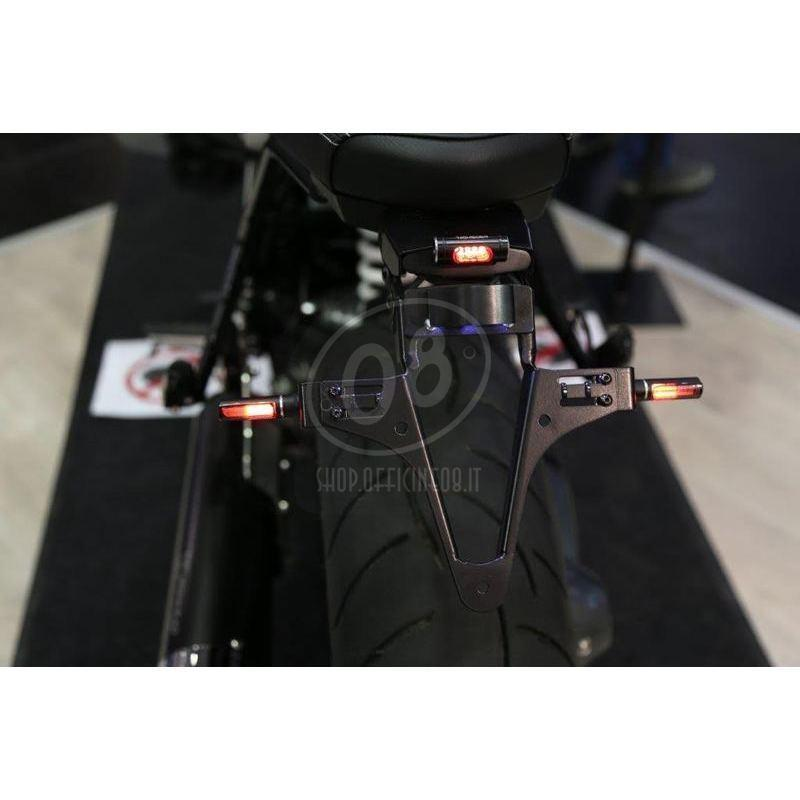 Led winkers Highsider Conero black smoked pair - Pictures 2