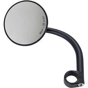 Specchietto retrovisore bar-end Biltwell Round 1'' lungo nero