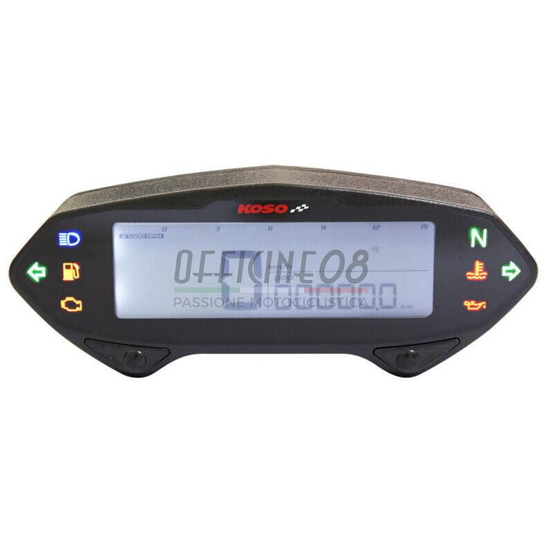 Electronic multifunction gauge Koso DB-01RN