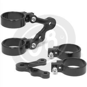 Headlight brackets 35mm LSL Cafe Racer mini winker holder pair