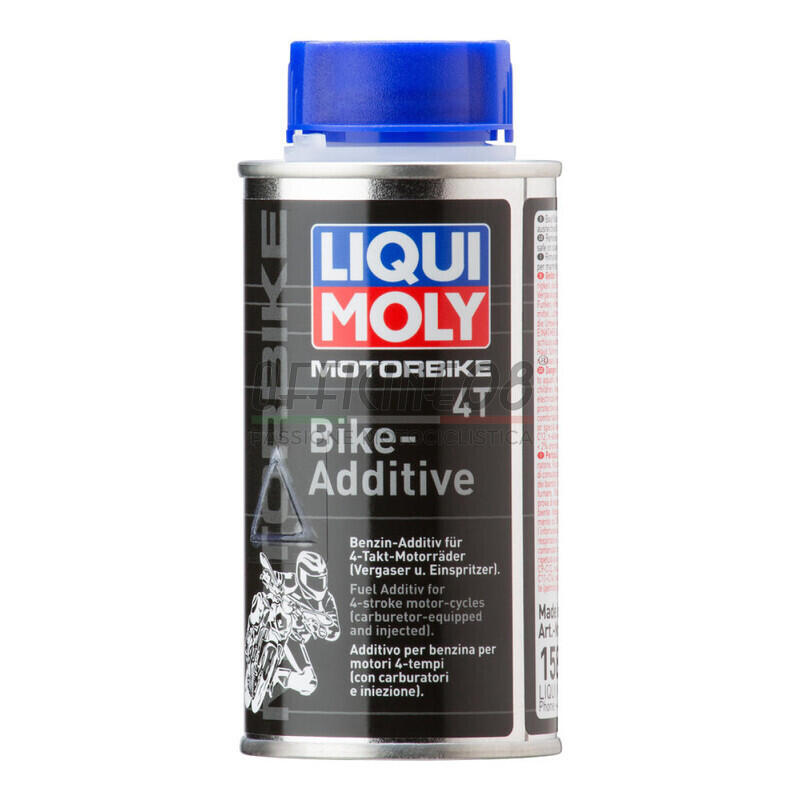 Additivo benzina verde Liqui Moly Bike Additive 4T 125ml