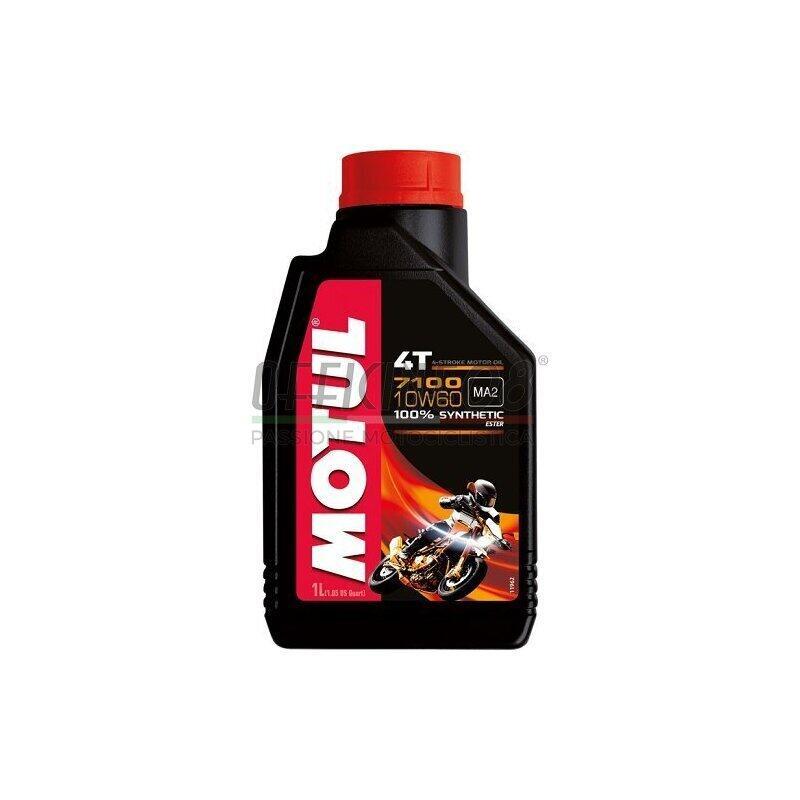 Engine oil 4T Motul 10W-60 7100 1lt