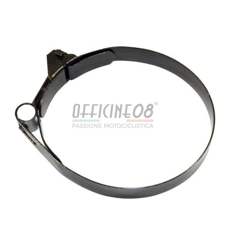 Fascetta fissaggio soffietto forcellone posteriore 76-80mm nero