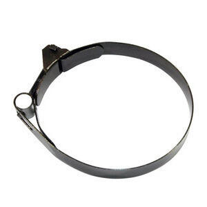 Rear swingarm rubber boot clamp Moto Guzzi 76-80mm black