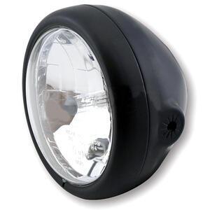 Faro anteriore 5.3/4'' Modern alogeno nero opaco