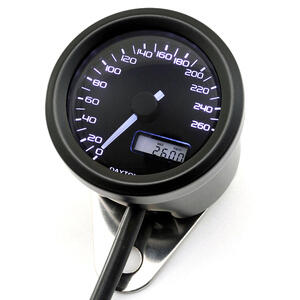Electronic speedometer Daytona48 260Km/h black