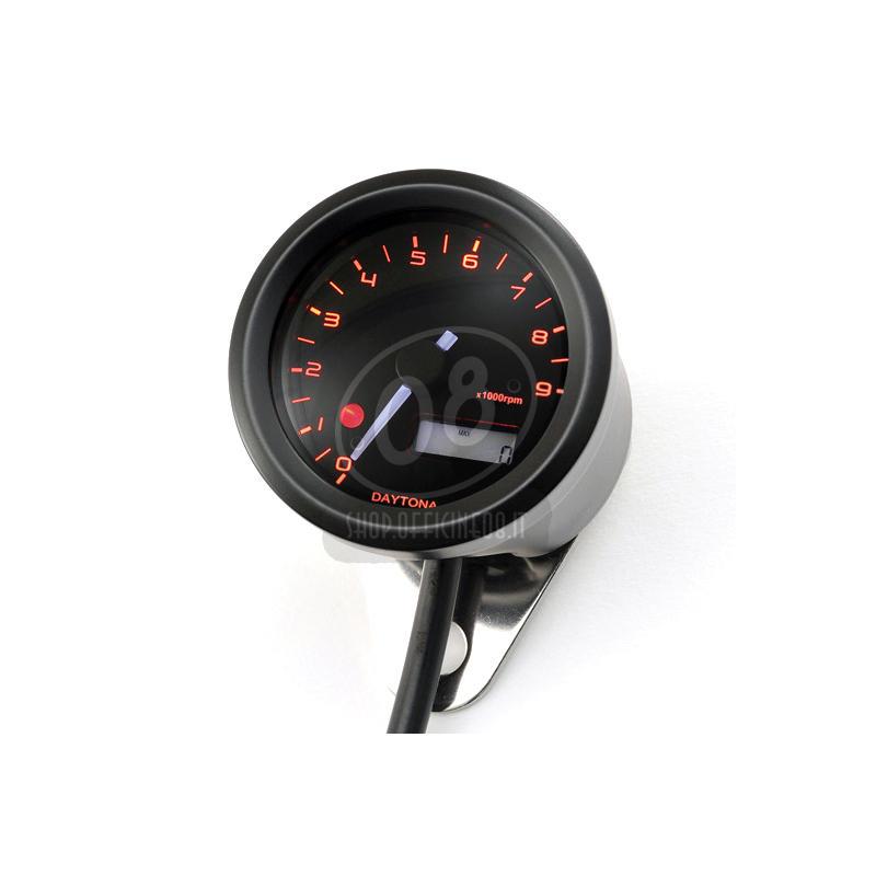Electronic tachometer Daytona48 9K black - Pictures 4