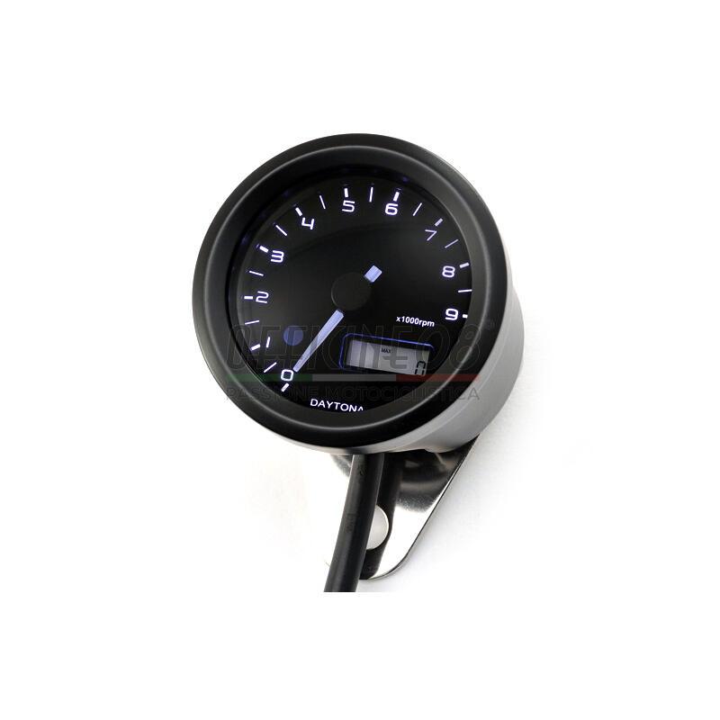 Electronic tachometer Daytona48 9K black