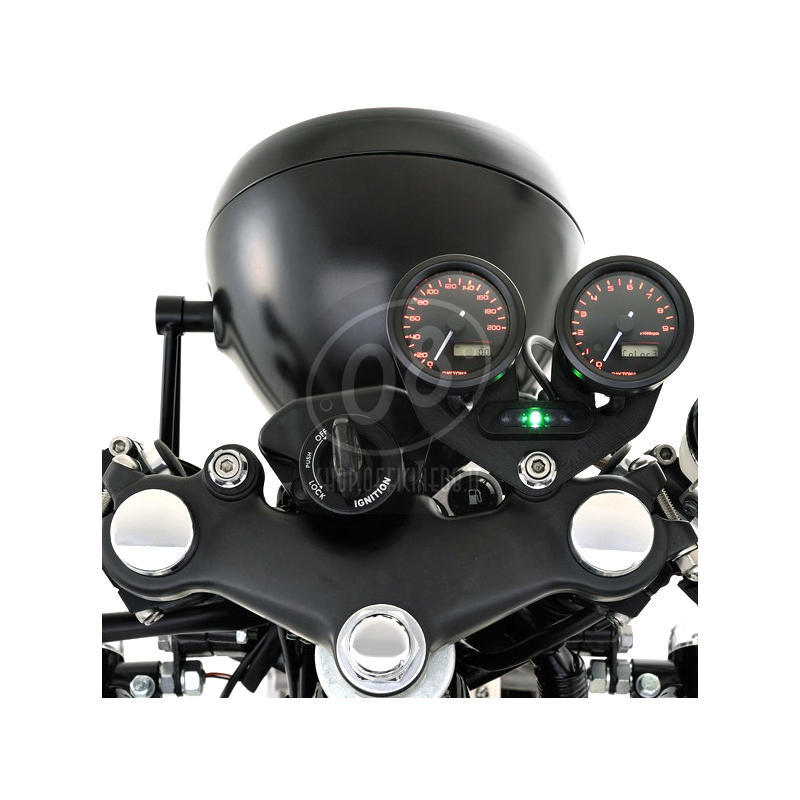 Contagiri elettronico Daytona48 15K nero - Foto 2