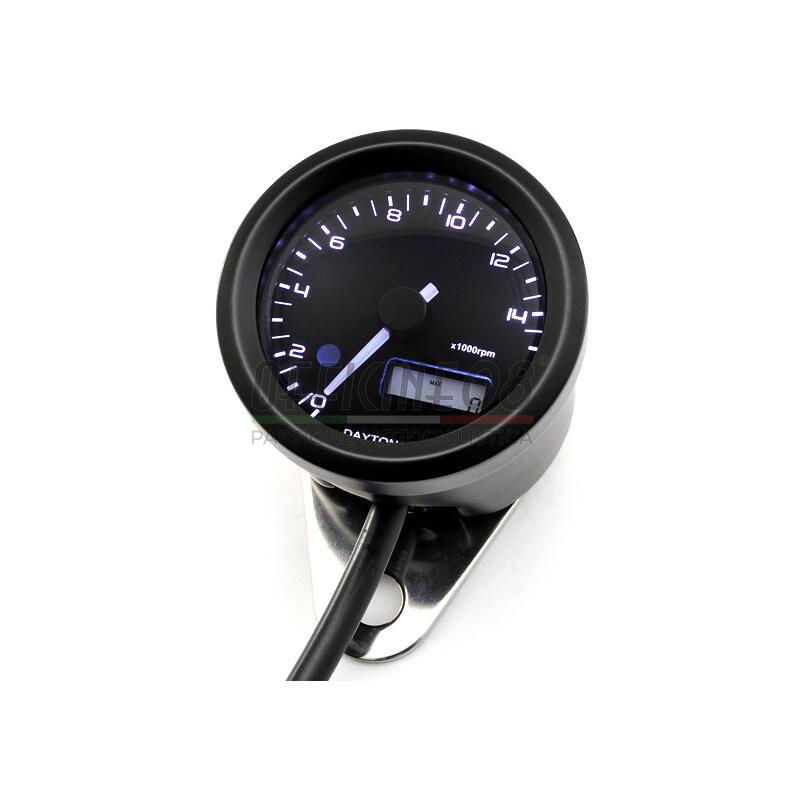 Contagiri elettronico Daytona48 15K nero