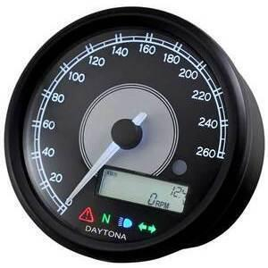 Electronic multifunction gauge Daytona80 260Km/h