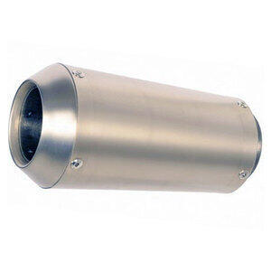 Exhaust muffler SparkGP SS 60mm stainless steel