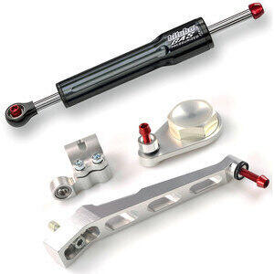 Steering damper Triumph Speed Triple 1050 kit Bitubo black complete