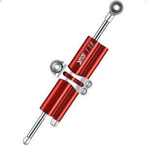 Ammortizzatore di sterzo YSS 75mm rosso