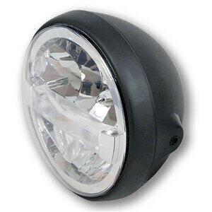 Full led headlight 7'' Highsider British Type4 black matt
