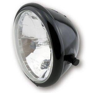 Halogen headlight 5.3/4'' Bates black