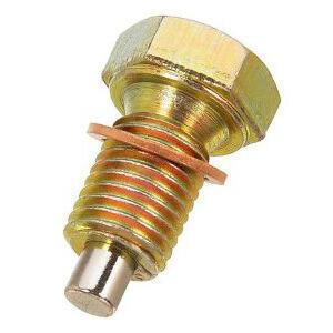 Bullone olio M16x1.5 magnetico acciaio