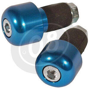 Bar-end weights LSL cylindric 14mm blue