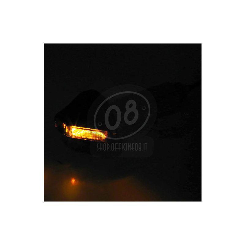 Coppia frecce led bar-end Highsider Flight nero opaco - Foto 5