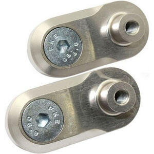 Adjustable footpeg joints mountings 23mm