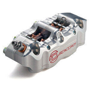 Front radial brake caliper Discacciati CNC P34 100mm left