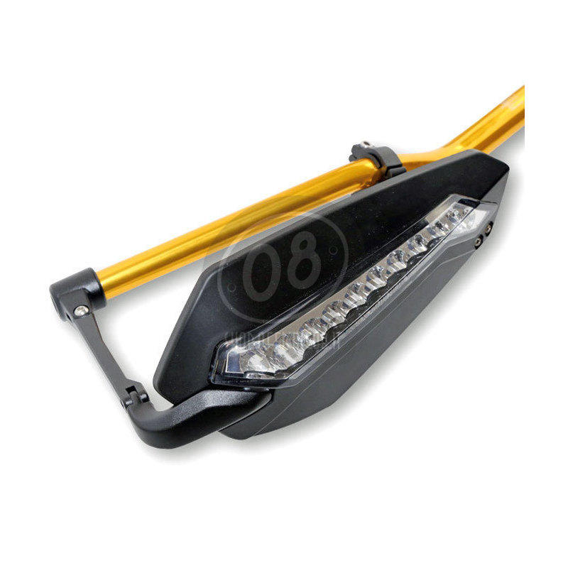 Hand guards Highsider with front position light pair - Pictures 2