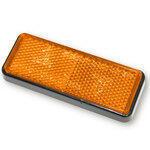 Catarifrangente posteriore 91x36mm autoadesivo arancione