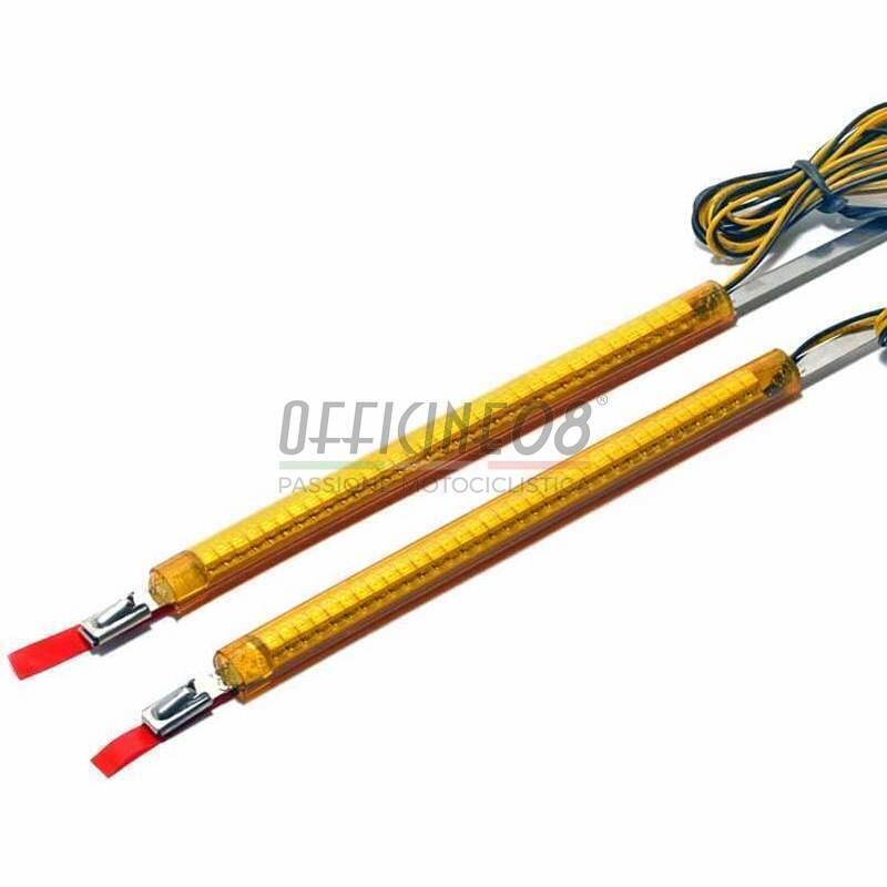 Led fork winkers 41mm Flexi 360° pair