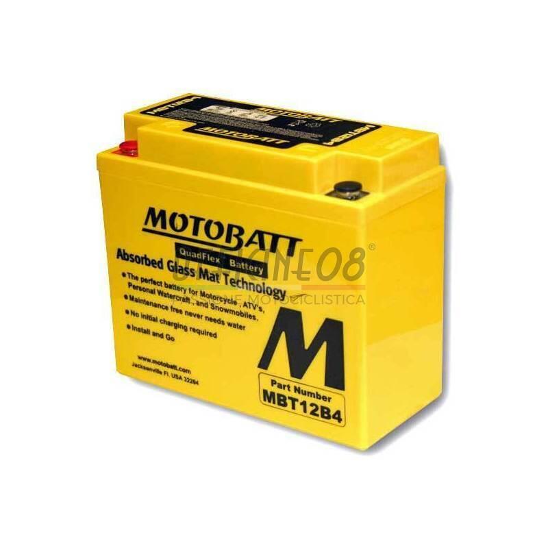 Batteria per Ducati 748 sigillata MotoBatt 12V-11Ah