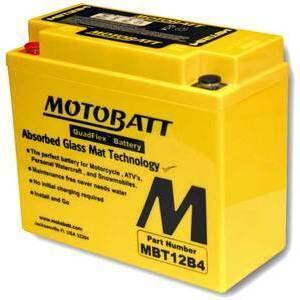 Battery Motobatt MBT12B4 12V-11Ah