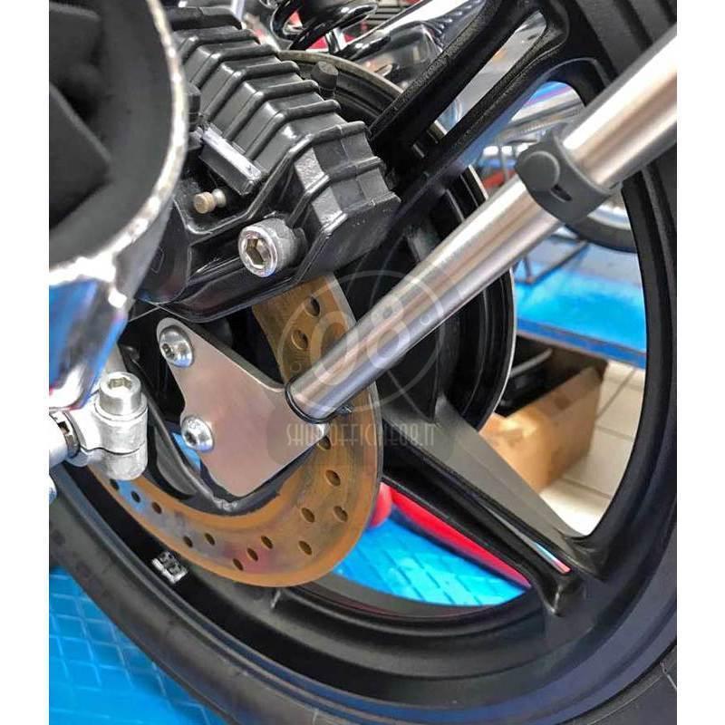 License plate holder Moto Guzzi 850 Le Mans wheel mount