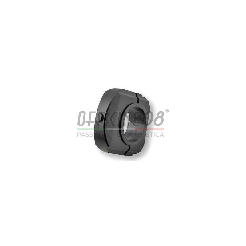 Button with clamp Koso black