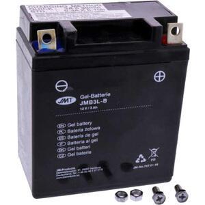 Batteria di accensione JMT YB3L-B gel 12V-3Ah
