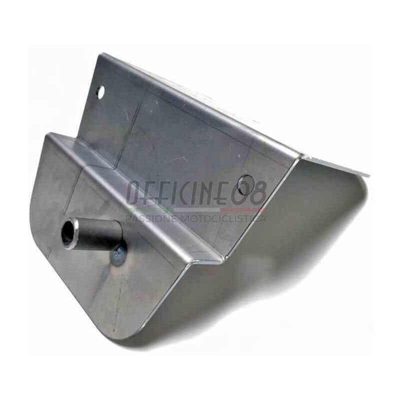 Cover airbox per BMW R Boxer 2V acciaio forato - Foto 2