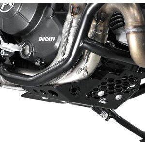 Paramotore per Ducati Scrambler 800 coppa olio nero