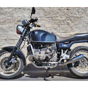 Exhaust system BMW R 45 Mass 2-1 Cafe Racer